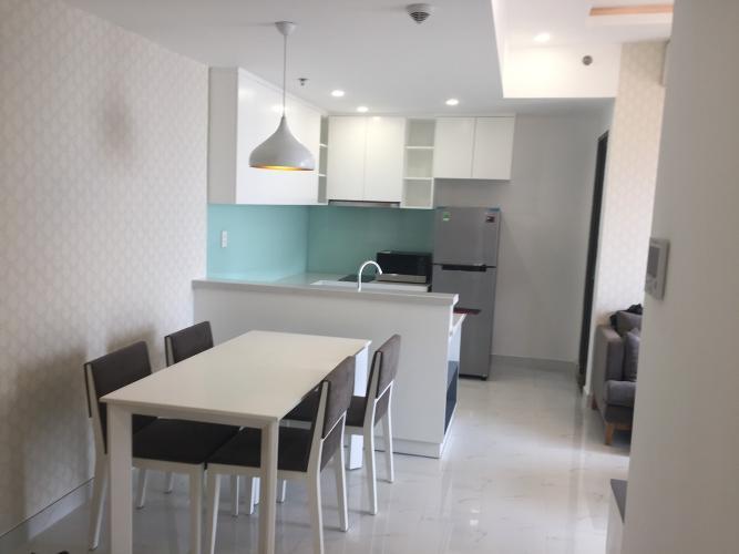 Phòng bếp Masteri Thảo Điền Quận 2 Căn hộ Masteri Thảo Điền view thành phố và sông, hướng Tây.