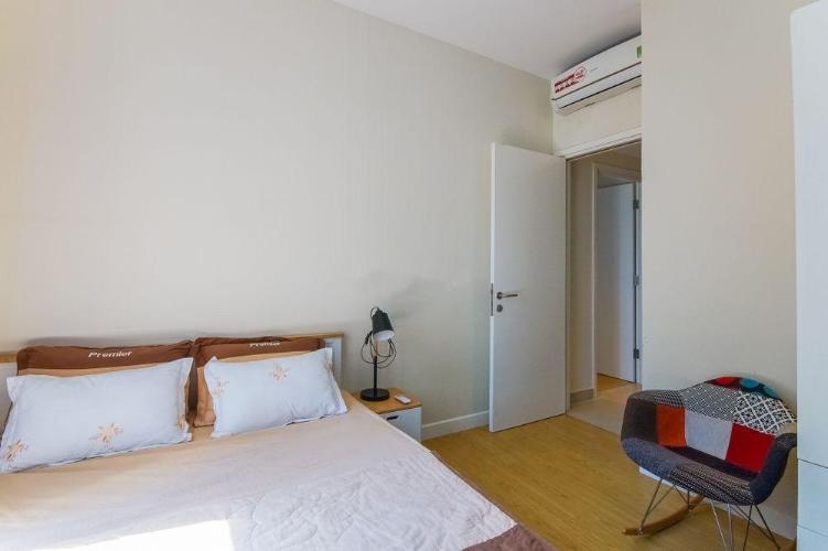 Phòng ngủ căn hộ Masteri Thảo Điền Căn hộ Masteri Thảo Điền nội thất gỗ cao cấp, view Thảo Điền và sông.