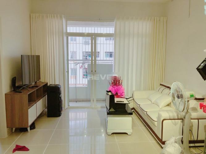 Căn hộ chung cư Bình Khánh tầng 15 cửa hướng Tây Bắc, view nội khu.