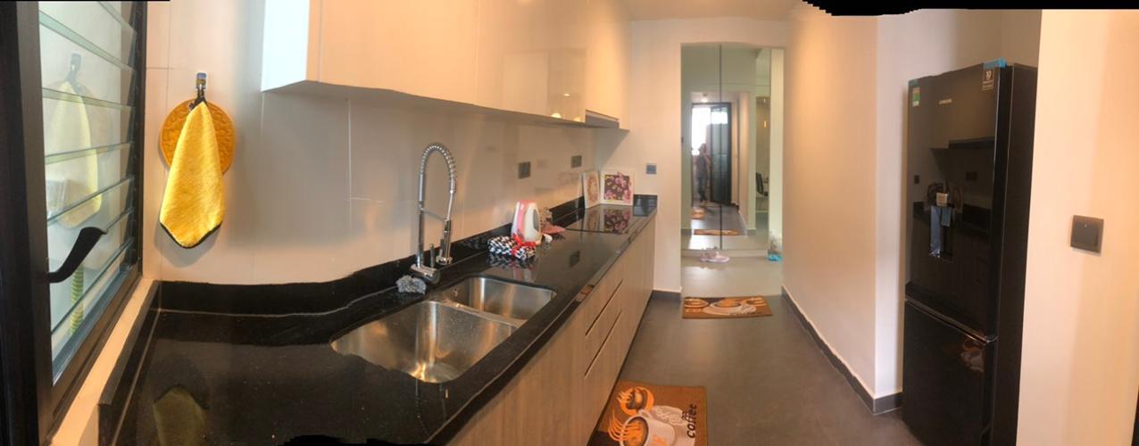 Phòng bếp Feliz En Vista Căn hộ Feliz En Vista tầng cao, bàn giao đầy đủ nội thất,