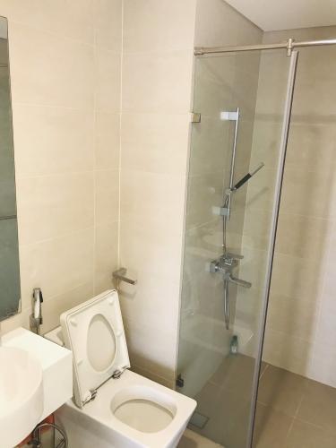 Toilet Masteri Millennium Quận 4 Căn hộ Masteri Millennium tầng 17, nội thất cơ bản.