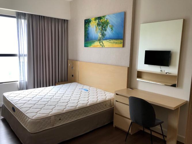Căn hộ tầng 24 The Sun Avenue đầy đủ nội thất, view thoáng mát.