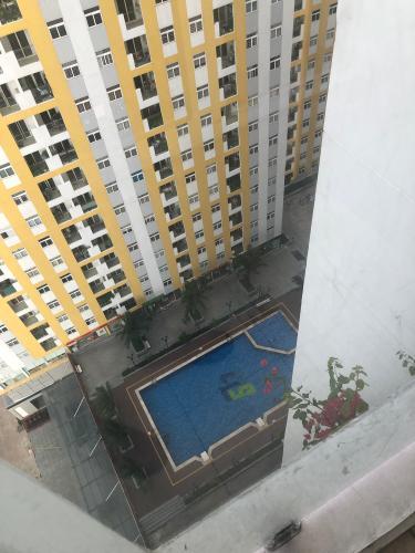 View hồ bơi City Gate, Quận 8 Căn hộ City Gate view thành phố, bàn giao nội thất cơ bản.