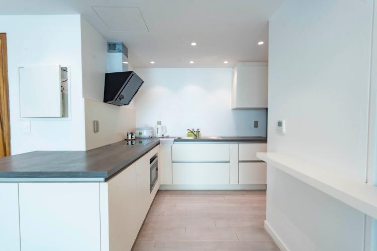 Phòng bếp , Căn hộ Léman Luxury Apartment , Quận 3 Căn hộ tầng 18 Léman Luxury Apartment ban công Tây Bắc, đầy đủ nội thất.