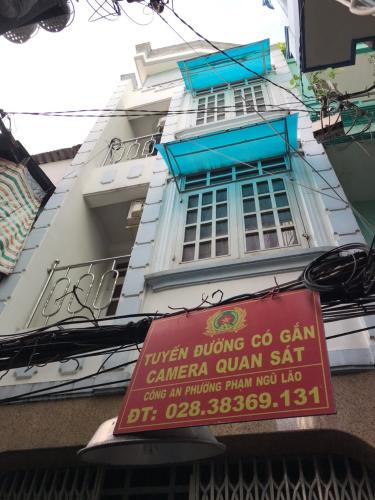 Bán nhà tại hẻm 148 Bùi Viện, phường Phạm Ngũ Lão, Quận 1. Diện tích đất 36.6m2