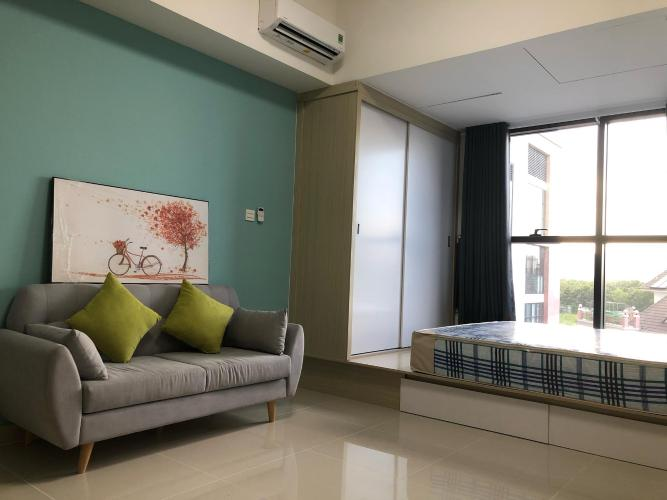 Phòng ngủ Căn hộ THE SUN AVENUE Cho thuê officetel The Sun Avenue tầng thấp, diện tích 40m2 - 1 phòng ngủ, đầy đủ nội thất