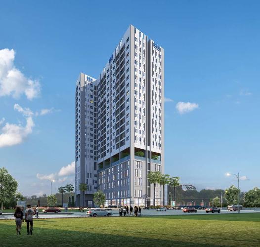 Chung cư D-Vela Căn hộ tầng 7 D-Vela view thành phố, ban công hướng Đông.