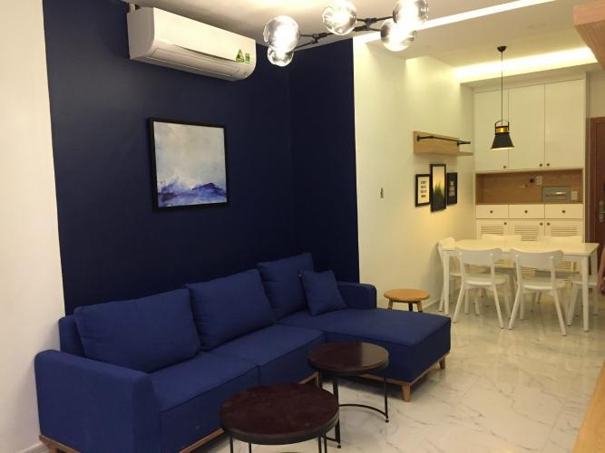 Căn hộ The Art tầng 12 view thành phố sầm uất, đầy đủ nội thất.