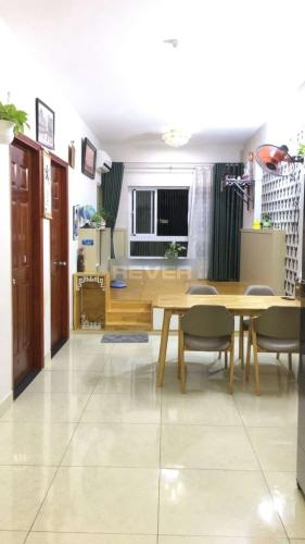 Căn hộ IDICO Tân Phú tầng cao bàn giao nội thất đầy đủ.