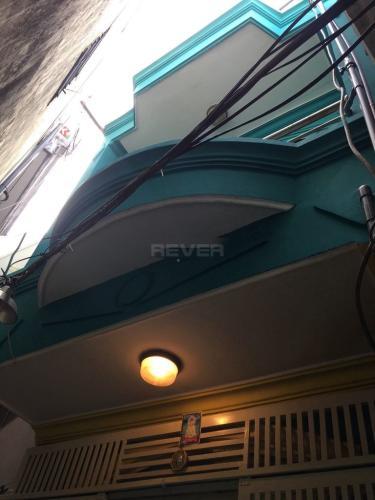 Mặt tiền nhà phố Quận Gò Vấp Nhà 1 trệt 1 lầu Q.Gò Vấp hướng Đông, sổ hồng riêng và nội thất cơ bản.