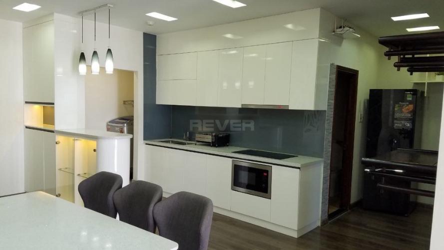 Phòng bếp chung cư Khánh Hội 3, Quận 4 Căn hộ chung cư Khánh Hội 3 view sông, đầy đủ nội thất.