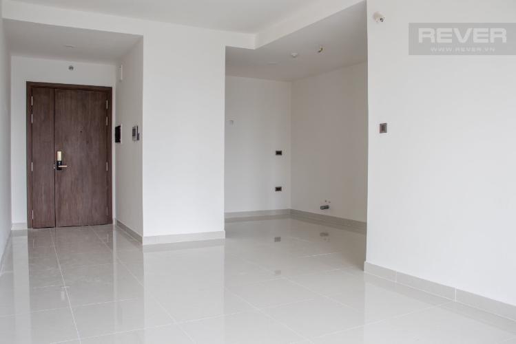 Phòng khách căn hộ Saigon Royal Căn hộ Saigon Royal 2 phòng ngủ cửa hướng Đông Nam, view Bitexco.