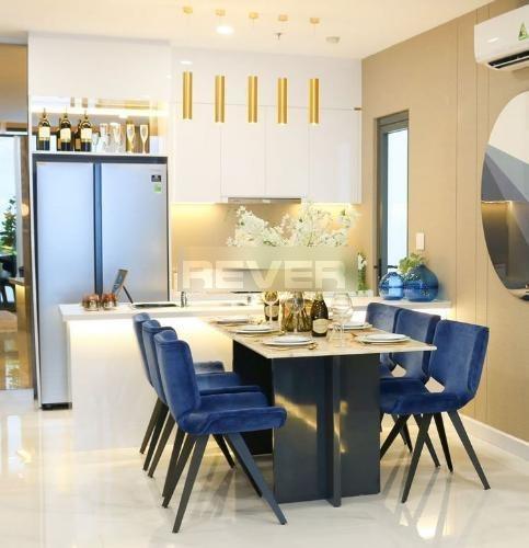 Phòng ăn D'Lusso Quận 2 Căn hộ D'Lusso tầng 8, ban công view sông, nội thất cơ bản.