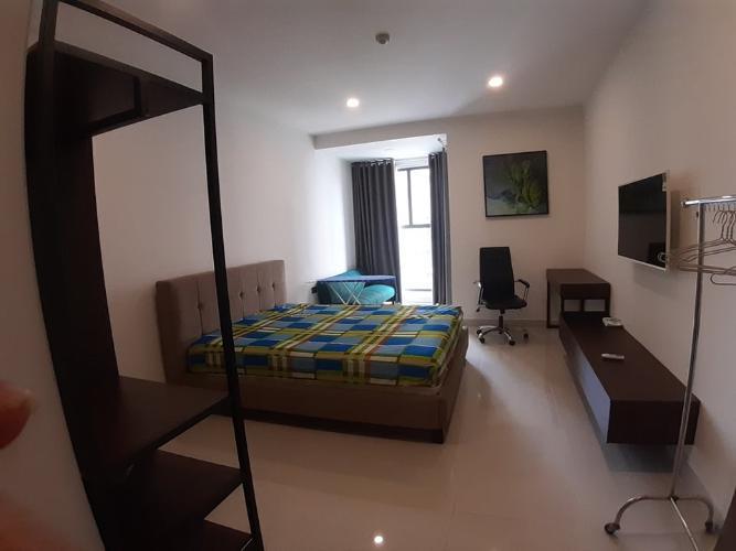 Phòng khách Saigon Royal Quận 4 Căn hộ tầng 04 Saigon Royal đầy đủ nội thất