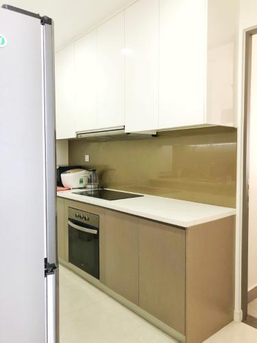 Khu vực bếp Masteri Millennium Quận 4 Căn hộ tầng cao Masteri Millennium nội thất hiện đại, view Q1.