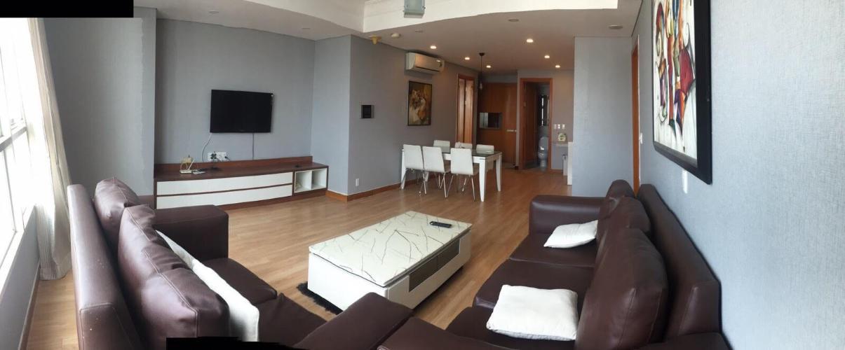 Phòng khách The Manor Quận Bình Thạnh Căn hộ The Manor tầng trung, đầy đủ nội thất