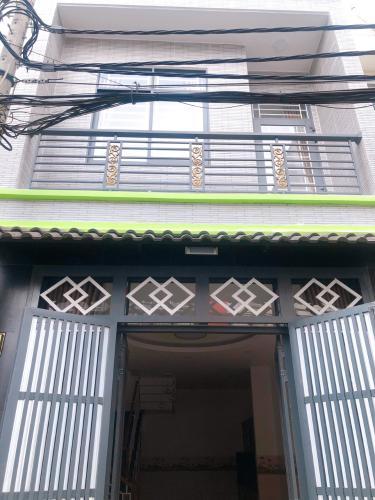 Mặt tiền nhà phố Bình Tân Nhà phố diện tích đất 4mx8m nằm trong hẻm xe hơi, hướng Tây Bắc.