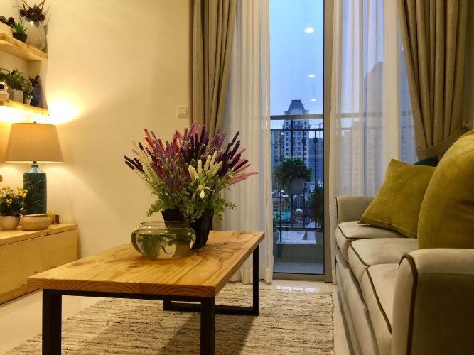 Căn hộ Vinhomes Central Park thiết kế sang trọng, nội thất đầy đủ.