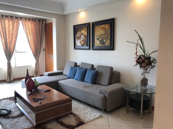 Phòng khách The Manor Quận Bình Thạnh Căn hộ The Manor tầng cao, ban công hướng Đông.