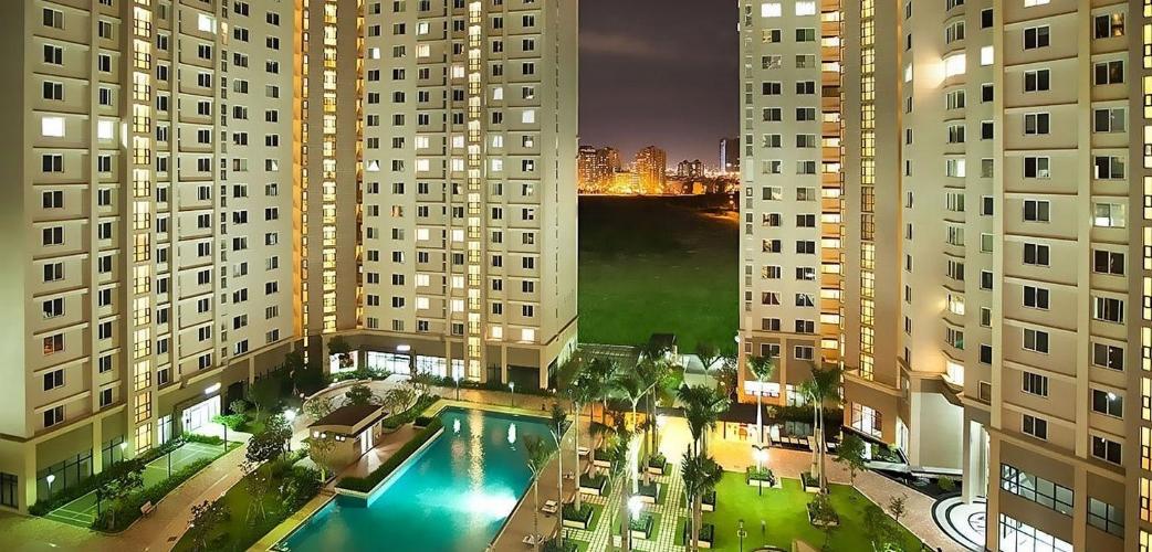 Căn hộ Cantavil An Phú, Quận 2 Căn hộ tầng 12 Cantavil An Phú cửa chính hướng Tây Bắc, đầy đủ nội thất.