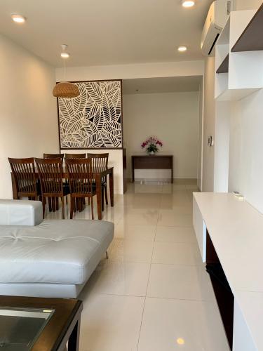 PHÒNG KHÁCH căn hộ Tresor Căn hộ The Tresor tầng cao đầy đủ nội thất, view sông và thành phố.