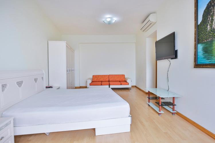 Phòng ngủ chính tao nhã Căn hộ tầng cao Sapphire