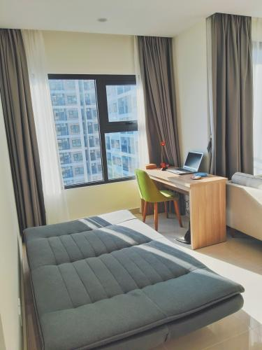 Phòng ngủ Vinhomes Grand Park Quận 9 Căn hộ hướng Đông Nam Vinhomes Grand Park tầng cao.