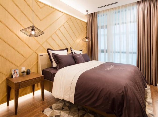 Phòng ngủ One Verandah Quận 2 Căn hộ One Verandah tầng trung, thiết kế năng động.
