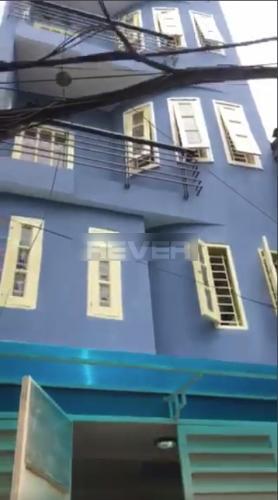 Chính diện nhà phố Bình Thạnh Nhà hẻm Nơ Trang Long, diện tích 5x8m, sổ hồng chính chủ.