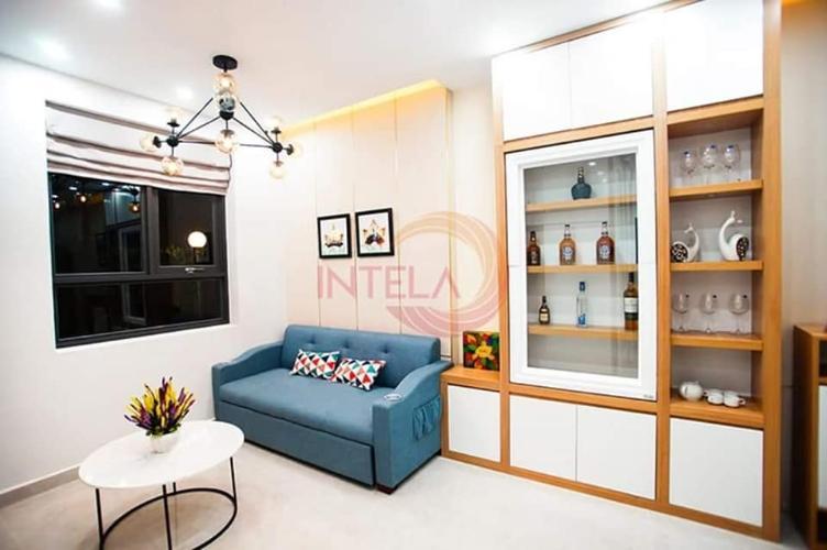 Căn hộ Saigon Intela tầng cao, nội thất cơ bản.