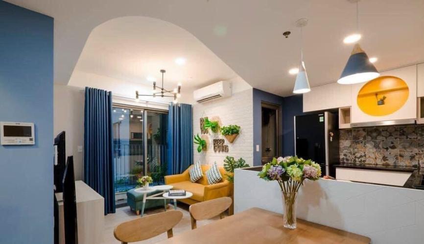Căn hộ tầng 3A Masteri Thảo Điền diện tích 67m2, đầy đủ nội thất.