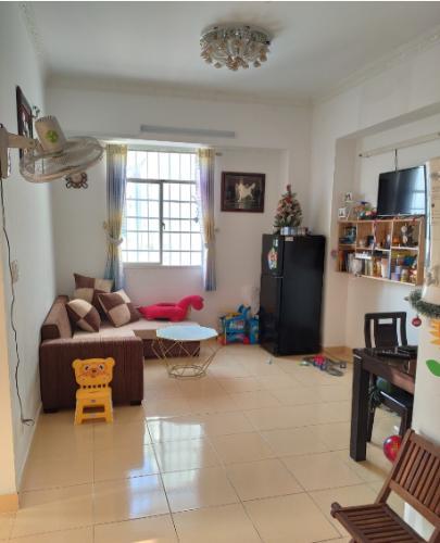 Căn hộ chung cư Lê Thành nội thất cơ bản, view thành phố.