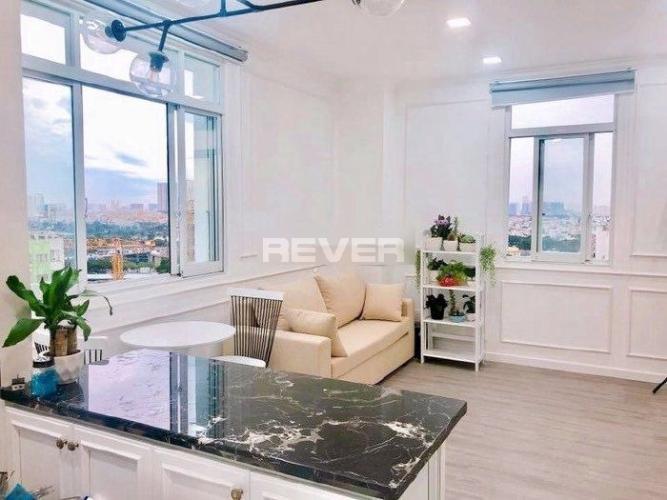 Căn hộ 109 Nguyễn Biểu diện tích 42m2, đầy đủ nội thất hiện đại.