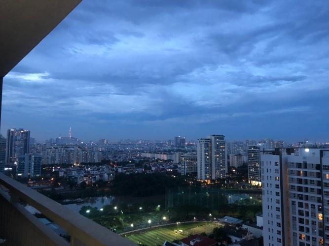 View Căn hộ tầng cao Sunrise Riverside hướng Đông, view sông.