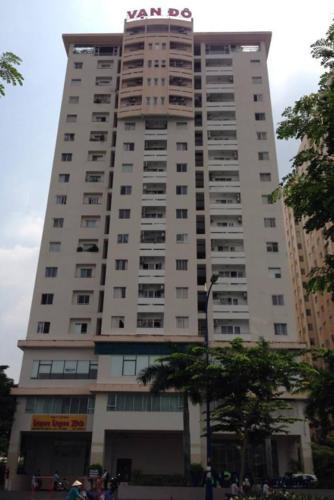 Building chung cư Vạn Đô Căn hộ chung cư Vạn Đô tầng 10 view thoáng mát, đầy đủ nội thất.