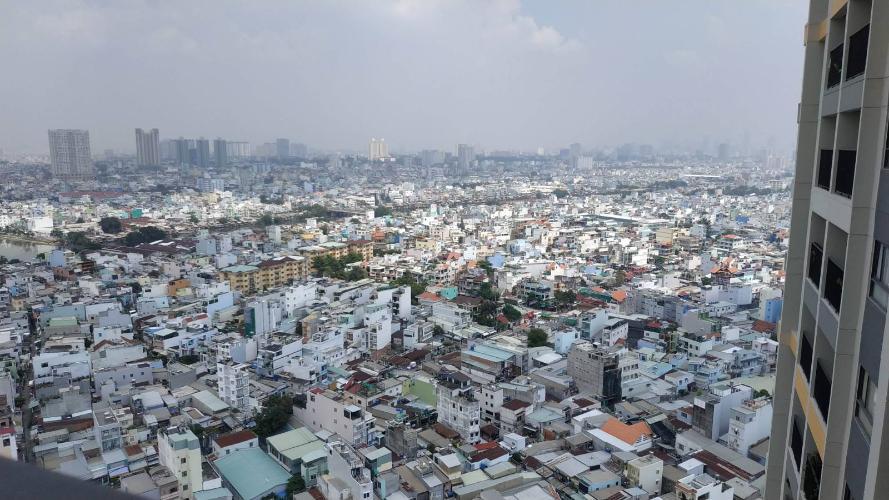 View căn hộ The Pegasuite 1, Quận 8 Căn hộ The Pegasuite 1 hướng cửa Tây Nam, tầng cao view thành phố.