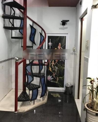 Nhà phố Quận 6 Nhà phố đường Bà Hòm gần khu Tên Lửa, không có nội thất.
