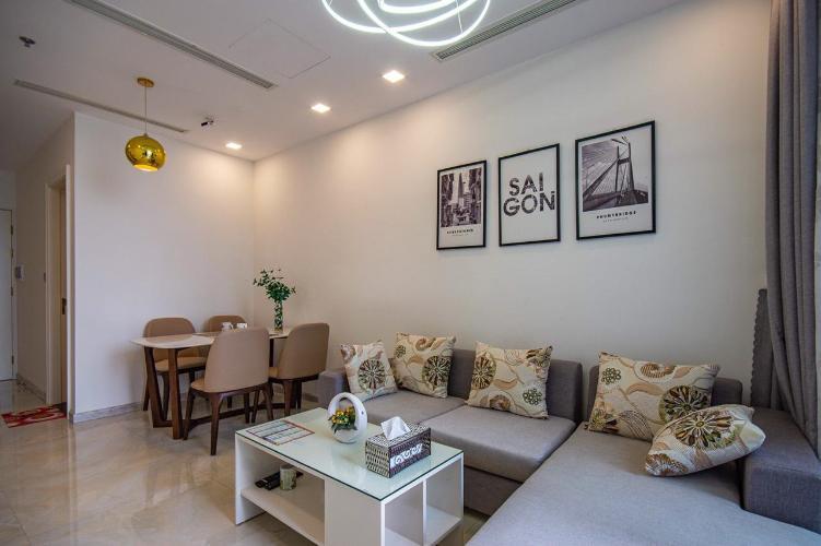 Bán căn hộ Vinhomes Golden River, 1 phòng ngủ, diện tích 54m2, view LandMark