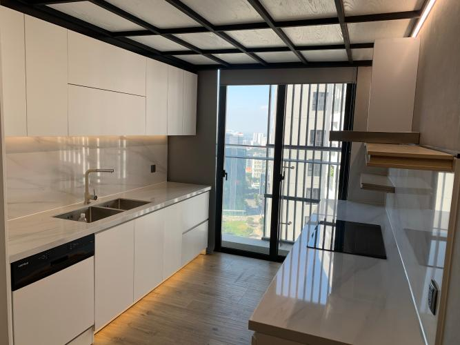 phòng bếp penthouse riviera point Căn hộ Penthouse Riviera Point đầy đủ nội thất, view sông thơ mộng.