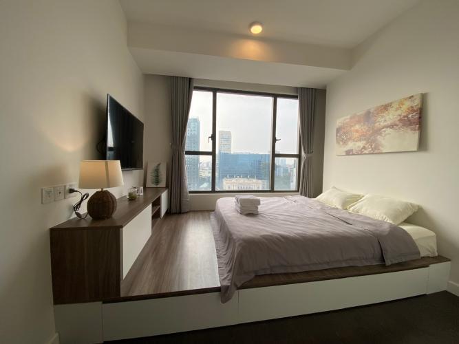 Phòng ngủ The Tresor Quận 4 Căn hộ tầng trung The Tresor đầy đủ nội thất, view Bitexco.