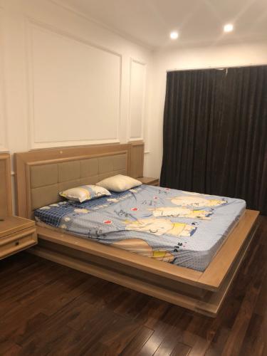Phòng ngủ nhà phố Quận 9 Nhà phố KDC Mega Village Quận 9 diện tích sử dụng 225m2, đầy đủ nội thất.