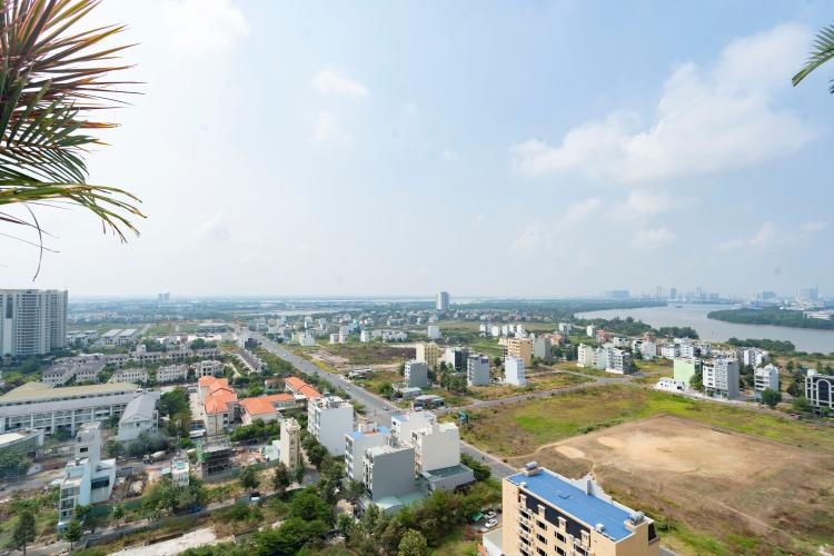 View Vista Verde Quận 2 Căn hộ Vista Verde tầng cao, view thành phố.
