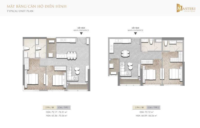 Căn hộ Masteri Centre Point tầng 15 view thoáng mát, nội thất cơ bản.