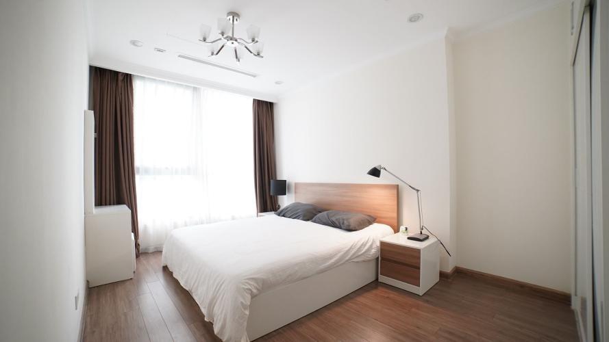 Phòng ngủ căn hộ Vinhomes Central Park, Quận Bình Thạnh Căn hộ Office-tel Vinhomes Central Park tầng 4, đầy đủ nội thất.