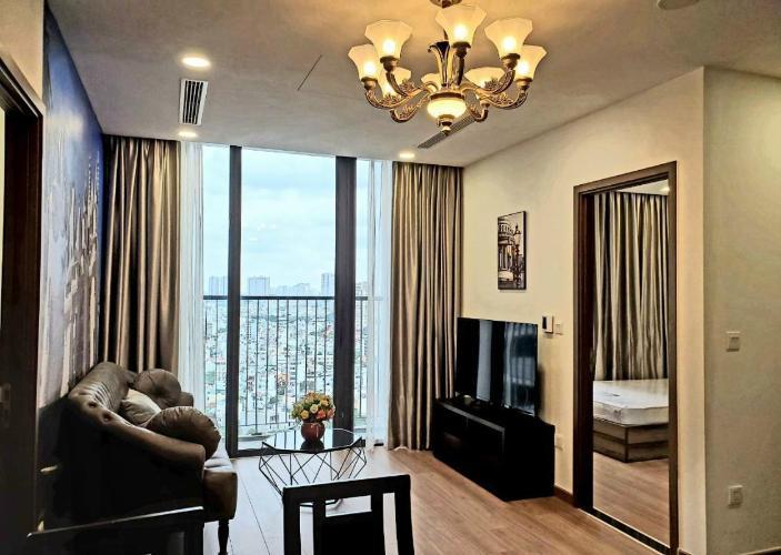 Căn hộ tầng cao Eco Green Saigon view thoáng mát.