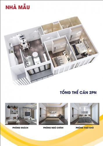 Căn hộ City Gate 3 có 2 phòng ngủ, bàn giao nội thất cơ bản.