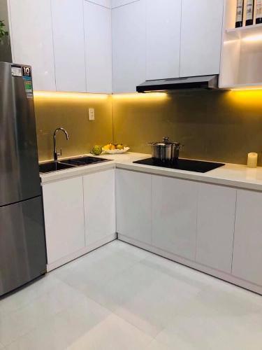 Phòng bếp căn hộ RICCA Bán căn hộ 1 phòng ngủ Ricca Quận 9, tầng 12, diện tích 56m2, chưa bàn giao