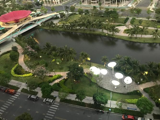View Sarimi Sala Đại Quang Minh, Quận 2 Căn hộ Sarimi Sala Đại Quang Minh tầng trung, nội thất đầy đủ.