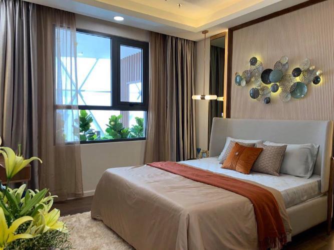 Phòng ngủ dự án Opal Boulevard Bán căn hộ Opal Boulevard tiếp giáp với TP.HCM, tiện ích đẳng cấp.
