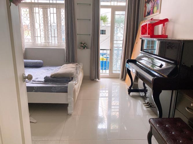 Phòng ngủ nhà phố Quận Tân Phú Nhà phố hướng Bắc diện tích sử dụng 148.5m2, đầy đủ nội thất.